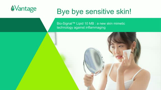 Bye, Bye Sensitive Skin: New Skin Mimetic Technology to Fight Inflammaging
