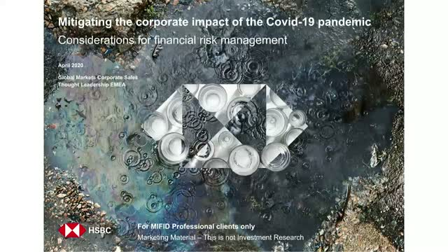 HSBC Presents: Mitigating the corporate impact of the COVID-19 pandemic