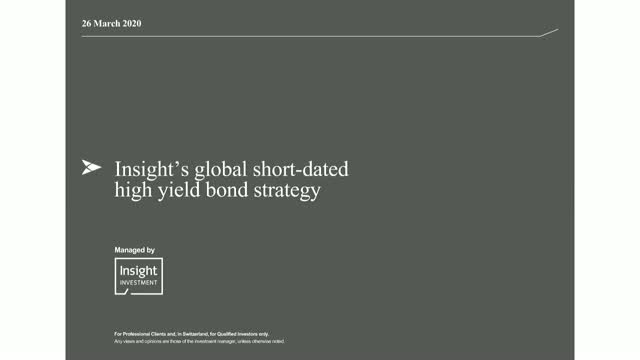 BNY Mellon Global Short-Dated High Yield Bond Fund update