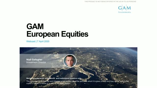 Opportunity still awaits for European equities - GAM European Equities update