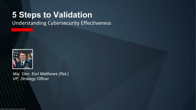 5 Steps to Security Validation