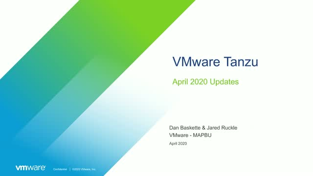 VMware Tanzu Application Service 2.9 & Enterprise PKS 1.7: A First Look