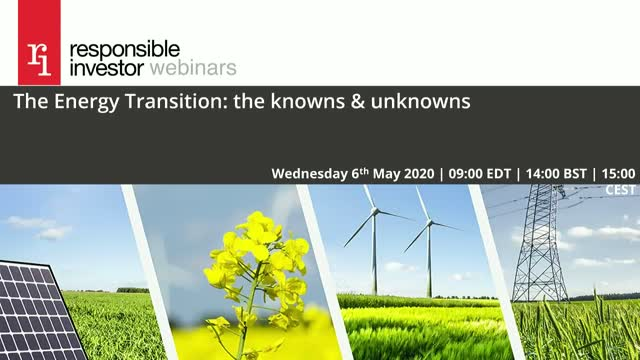The Energy Transition: the knowns & unknowns