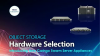 Hardware Selection for Object Storage