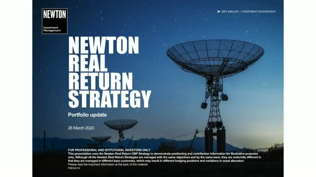 Newton Global Real Return update