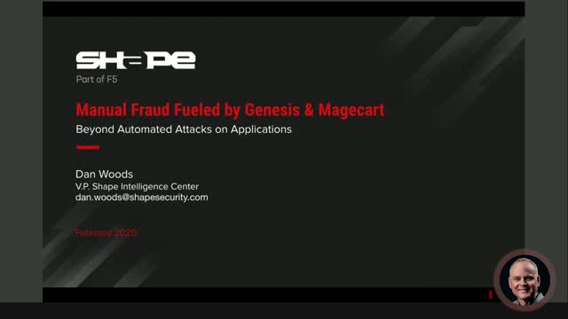 Beyond Automated Attacks: Manual Fraud, Genesis & Magecart