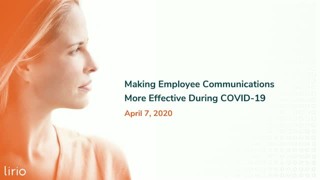 How to Make Your Employee Communications More Effective During COVID-19