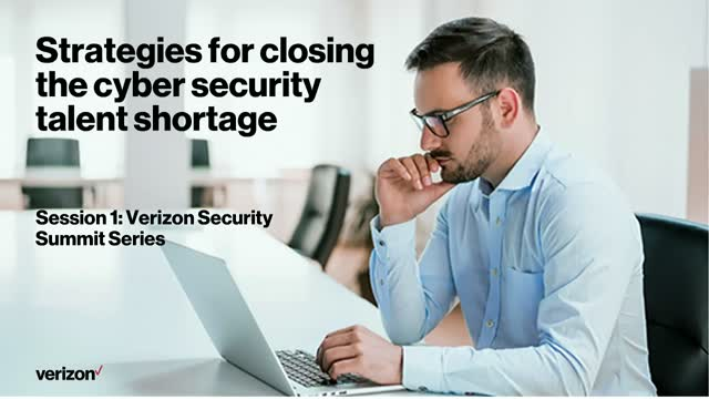 Verizon Security Summit Series Session 1: Strategic Outsourcing