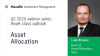 Manulife IM - Q2 2020 webinar series: Asset class outlook - Asset Allocation