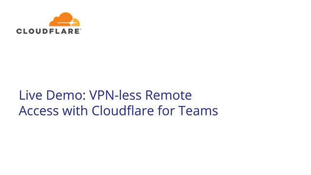 Making remote access faster and safer from anywhere