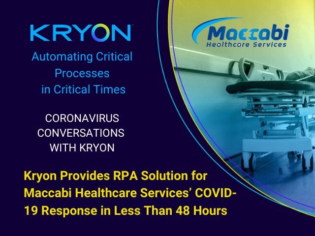 Within 48 Hours, RPA Solution for Critical Coronavirus Process implemented