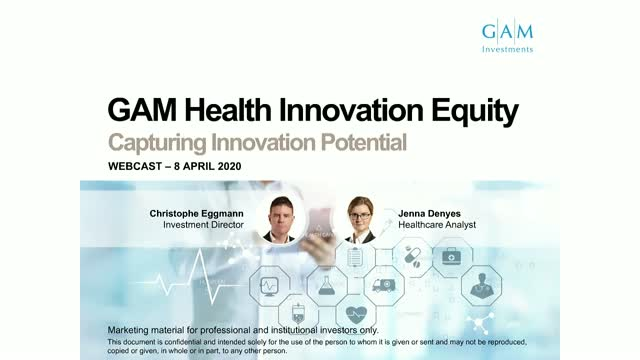 Healthcare comes to the fore - GAM Health Innovation Equity update