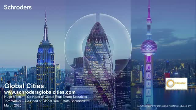 Update: Schroder Global Cities Real Estate