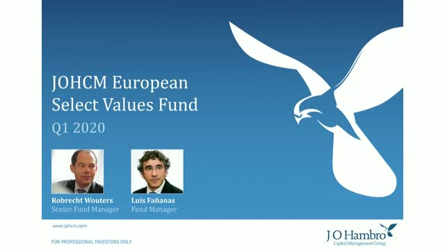 JOHCM European Select Values Fund Q1 2020 Update