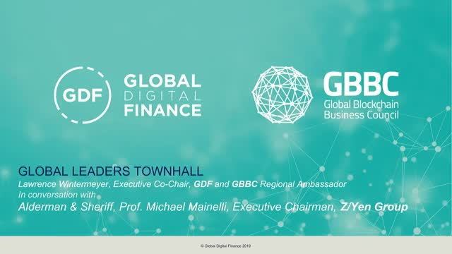 GDF and GBBC present Global Leaders Town Hall with Michael Mainelli