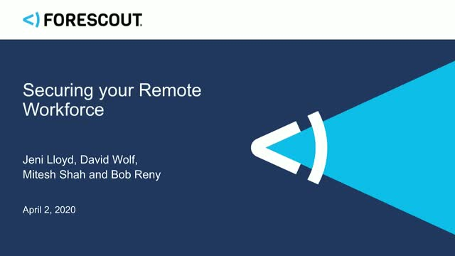 Move Beyond VPN to Secure your Remote Workforce