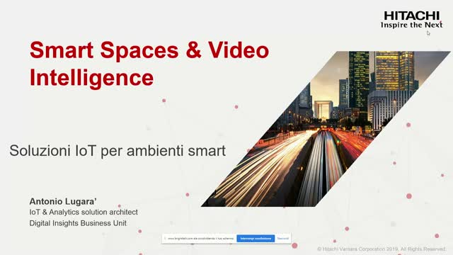 (IT) Smart Spaces & Video Intelligence – Soluzioni IoT per Ambienti Smart