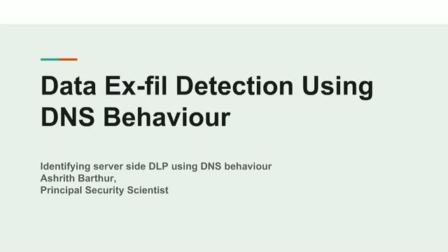 Using Domain Traffic to Identify Malicious Behavior in Cybersecurity