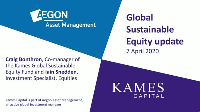 AAM/Kames Global Sustainable Equity Fund update