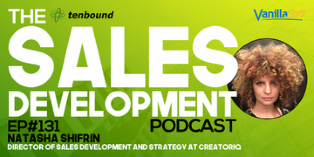 Natasha Shifrin - Managing Change in Sales Development