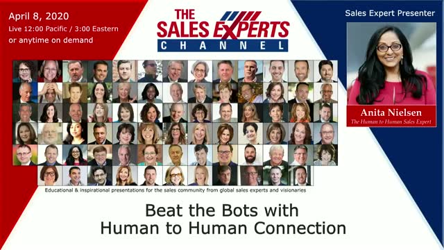 Beat the Bots with Human to Human Connection