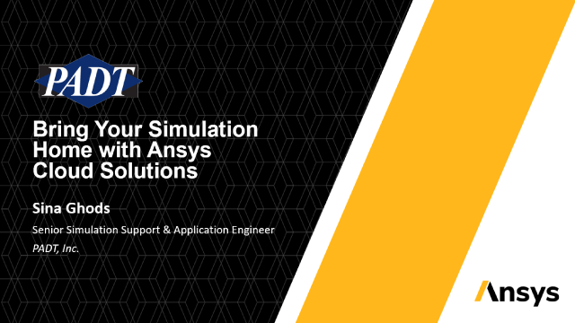 Bring Your Simulation Home with Ansys Cloud Solutions