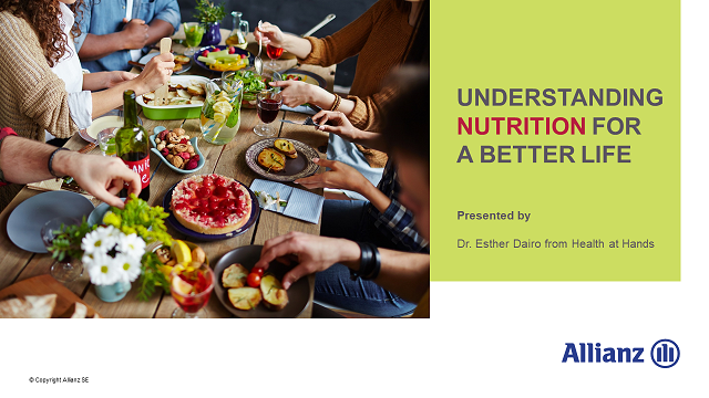 Understanding nutrition for a better life