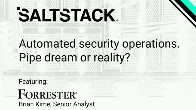 Automated Security Operations in 2020: Pipe dream or reality?