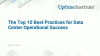 The Top 10 Best Practices for Data Center Operational Success