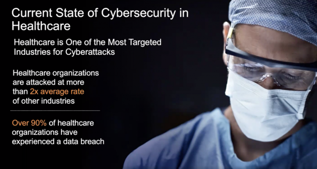 Rethinking Cybersecurity in Healthcare