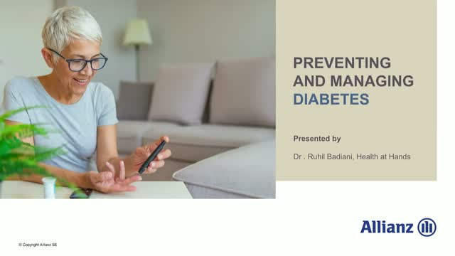 Preventing and managing Diabetes