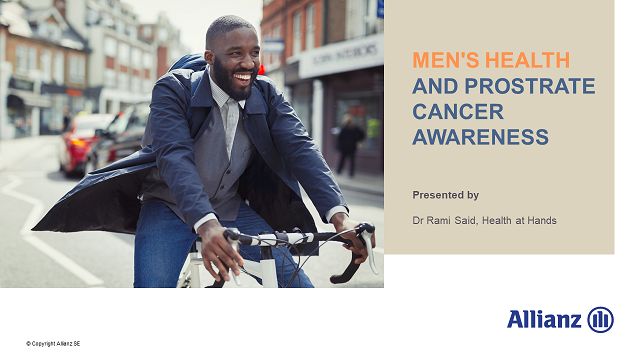 Men's Health and Prostrate Cancer Awareness
