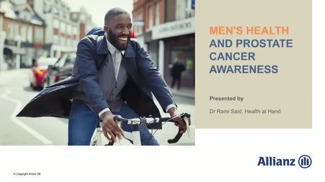 Men's Health and Prostate Cancer Awareness