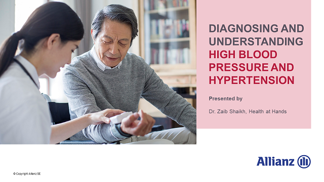 Diagnosing and understanding High Blood Pressure and Hypertension