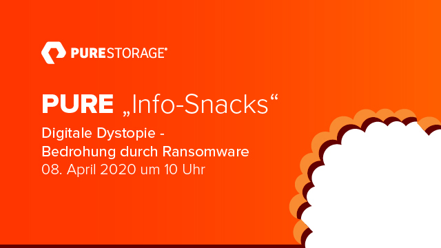 "Pure ""Info-Snacks"": Digitale Dystopie - Bedrohung durch Ransomware"