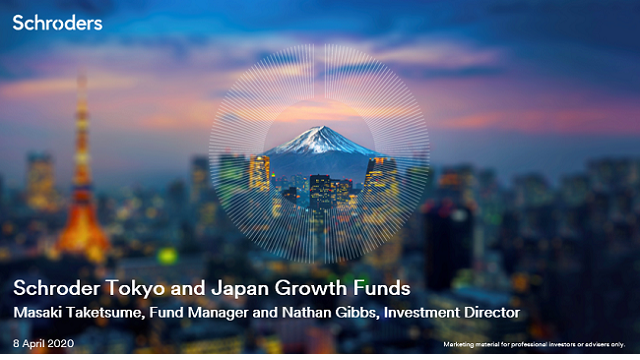 Schroder Tokyo and Japan Growth Funds