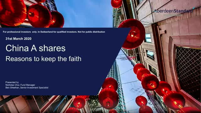 China A shares - 5 reasons to keep the faith