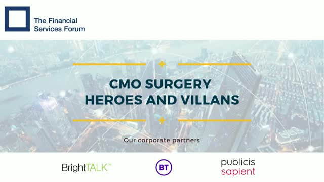 CMO Surgery - Heroes and Villains