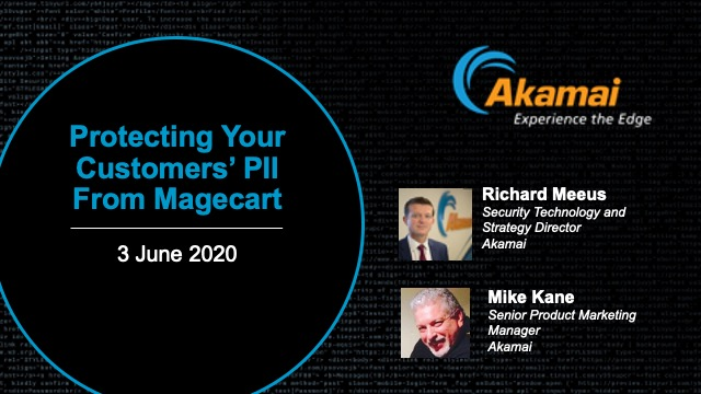 Protecting Your Customers' PII from Magecart