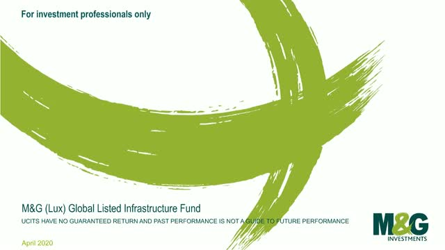 M&G Webcasts: M&G (Lux) Global Listed Infrastructure Fund
