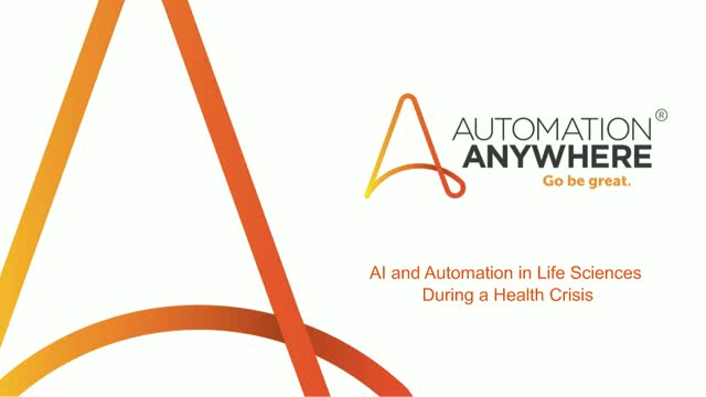 Leveraging AI & Automation in Life Sciences during a Health Crisis