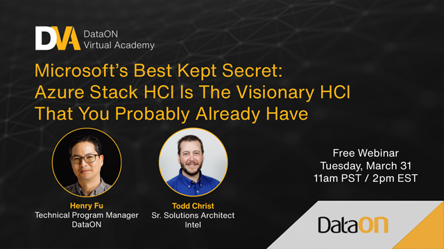 Azure Stack HCI is the Visionary HCI You Probably Already Have