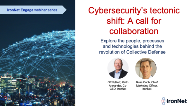 Cybersecurity's Tectonic Shift: A Call for Collaboration