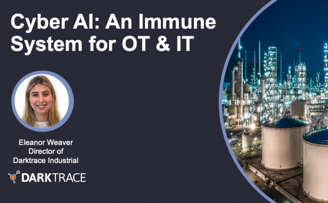 Cyber AI: An Immune System for OT & IT