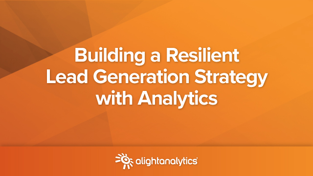 Building a Resilient Lead Generation Strategy with Analytics