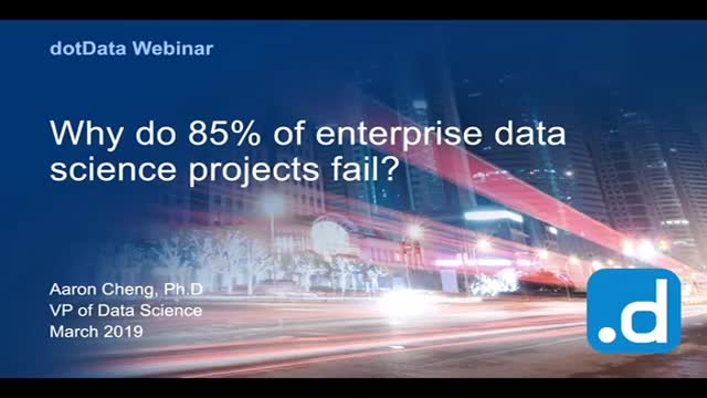 Why Do 85% of Data Science Projects Fail