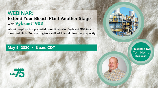 Extend Your Bleach Plant Another Stage with Vybrant 903