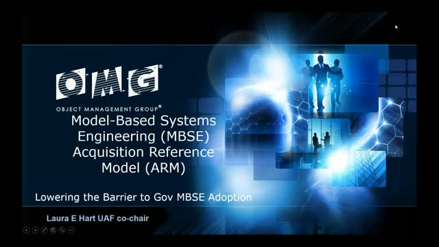 Model Based Systems Engineering (MBSE) Acquisition Reference Model (ARM)