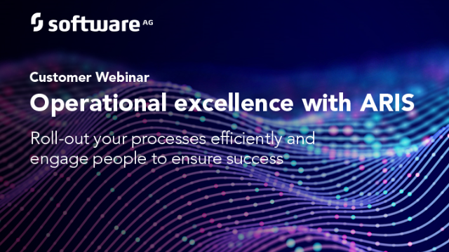 Roll-out your Processes Efficiently and Engage People with ARIS