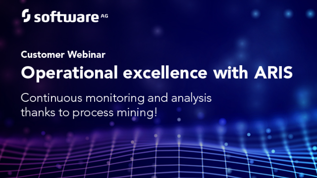 Continuous Monitoring and Analysis Thanks to ARIS Process Mining